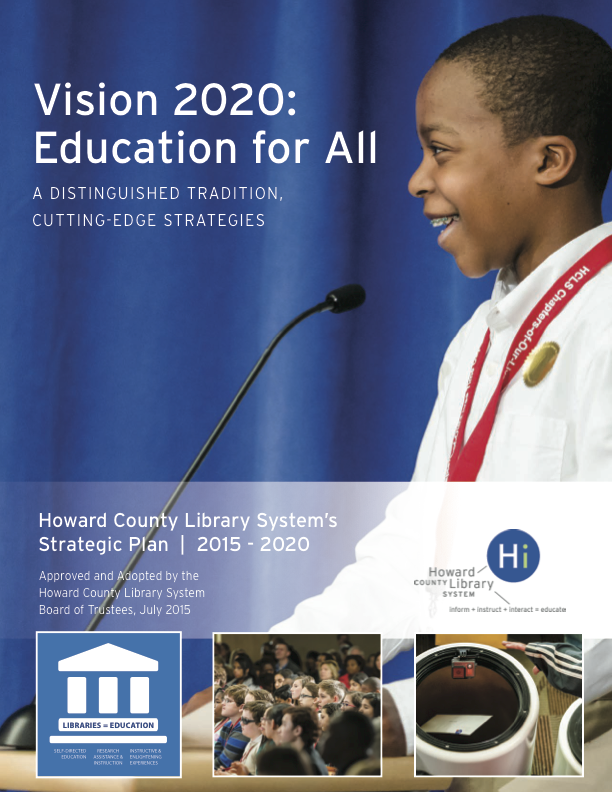 cover of Vision 2020: Education for All