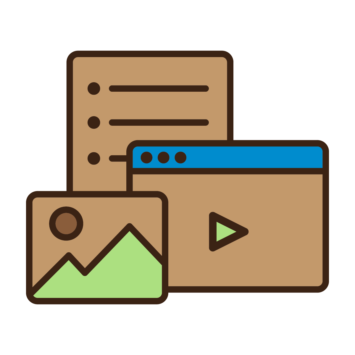 Brave resources icon
