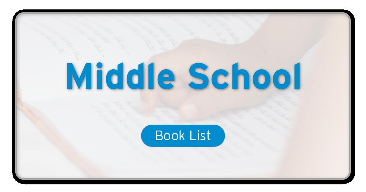 reading list Middle school