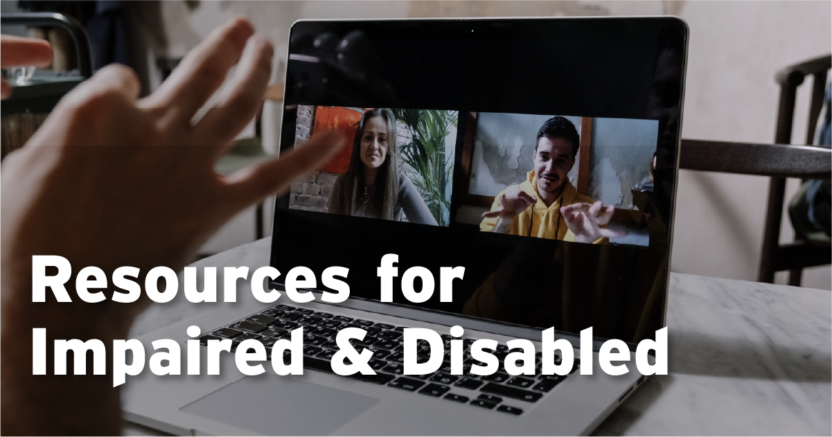deaf,impiared, disabled resources